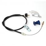 BBK Performance 16095 Adjustable Clutch Cable/Aluminum Quadrant and Firewall Adjuster Kit for Ford 2