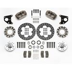 Wilwood 140-14422-DN 1963-1972 Chrysler B/E Body Dynapro Lug Mount Front Dynamic Drag Brake Kit