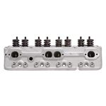 Edelbrock 5073 Small Block Chevy E-STREET Cylinder Heads 185cc, 70cc Chambers Assembed, Pair