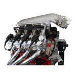 Holley 241-88 ALUMINUM LS VALVE COVERS NATURAL 2
