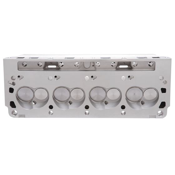 Edelbrock 5023 Small Block Ford 170cc E-STREET Cylinder Heads, 1.90 in. intake Valve, Pair
