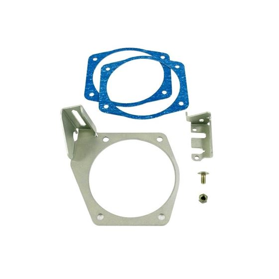 TSP LS7 102mm Fabricated Intake Manifold Kit, Aluminum, Clear Anodized