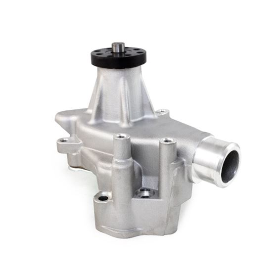 Top Street Performance HC8014C Chrome Finish Long Water Pump with Reverse Rotation