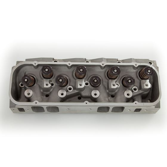 Flo Tek 407-6058 Big Block Chevrolet 360cc/133cc Aluminum Cylinder head,  AssembledThe FLO-TEK BBC 360 takes stock pistons with raised valve cover   The