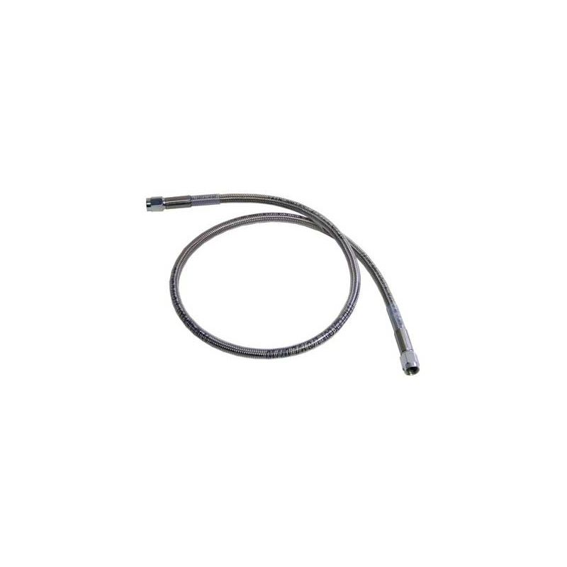 21212 -4AN Stainless Steel Brake Line, 12 in. Stra
