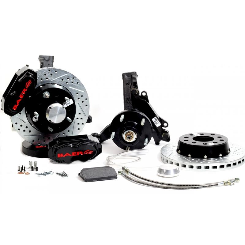 Brake System 11 Inch Front SS4+ Black 78-87 GM G B