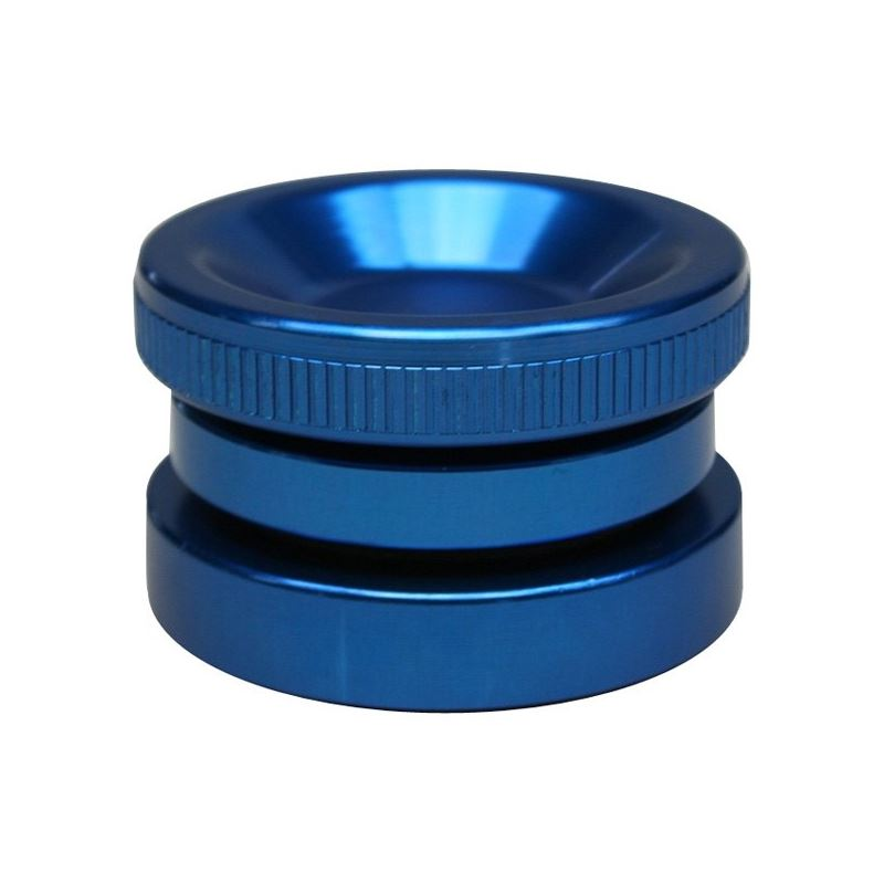 4120450 Billet Oil Filler Cap, Blue, Screw-in 1.37