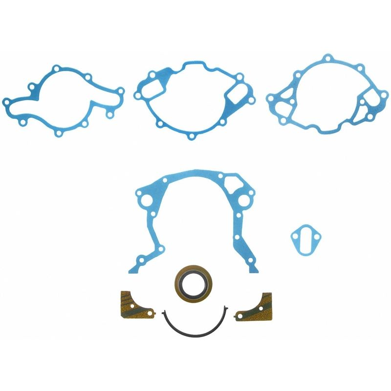 TCS45449 Small Block Ford Timing Cover Gasket Kit