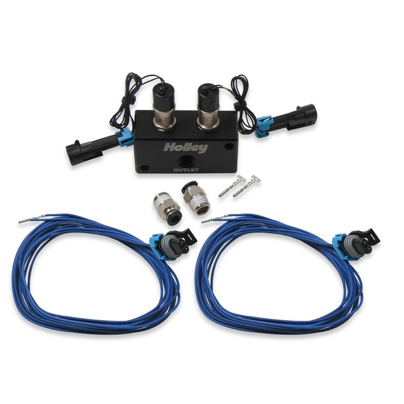 557-201 Dual Port Boost Control Solenoid Kit, Holl