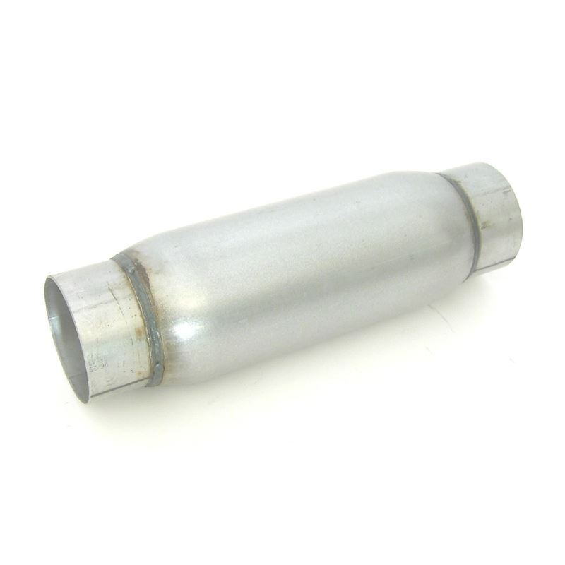 24246 Stainless Steel Race Bullet Muffler, 2.5 in.