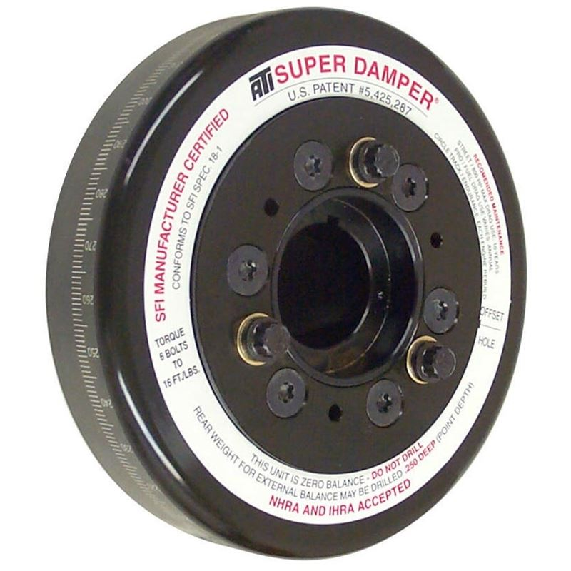 917260 Small Black Chevy, Super Damper, 6.325 in.
