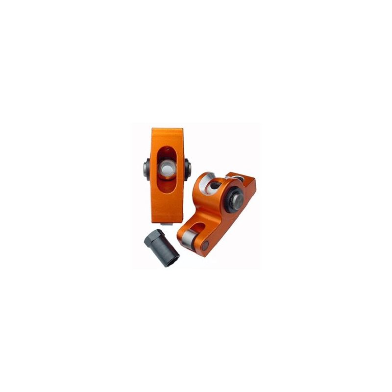 S4004 AMC V8, Aluminum Roller Rocker Arms, 1.6 Rat