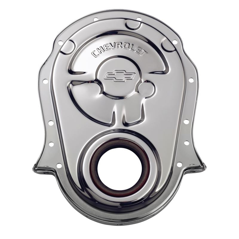 141-216 Engine Timing Chain Cover Chrome Steel w/