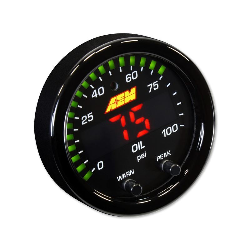 30-0301 X-Series Oil Pressure Digital Gauge 0-100
