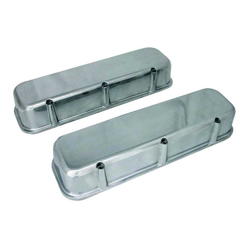70035  3 11/16 in. Tall Polished Valve Covers, Big