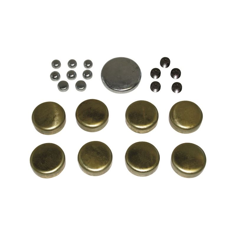 66552 Brass Freeze Plug Kit For Big Block Chevy 39