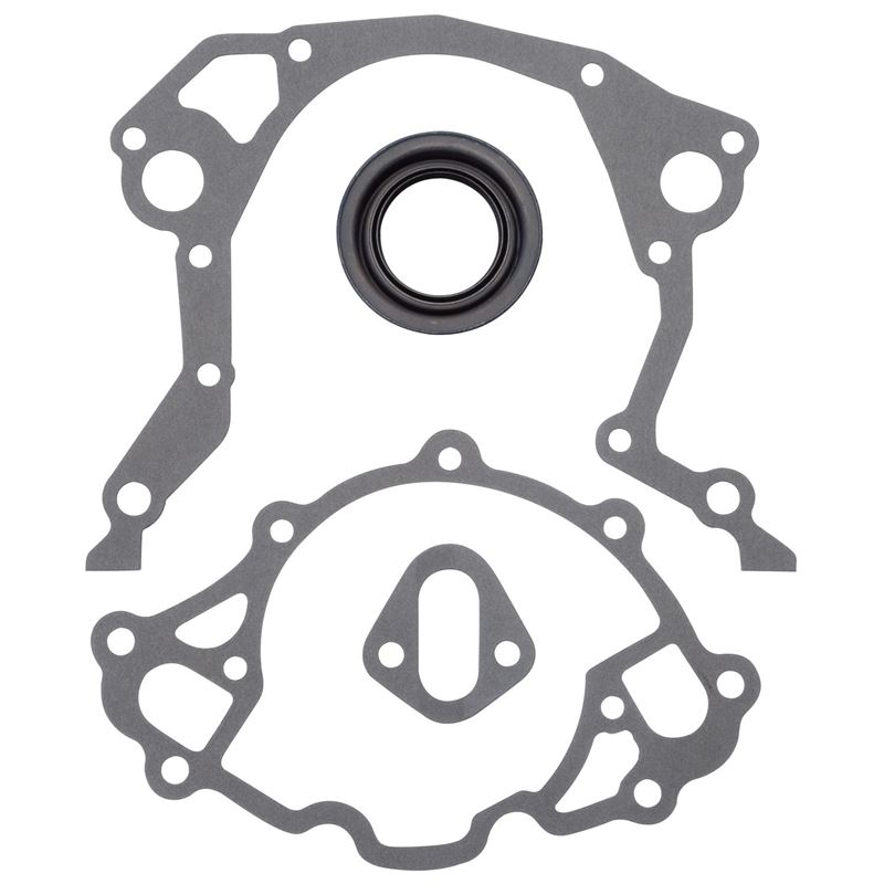 6991 Small Block Ford Timing Cover Gasket Kit, Com
