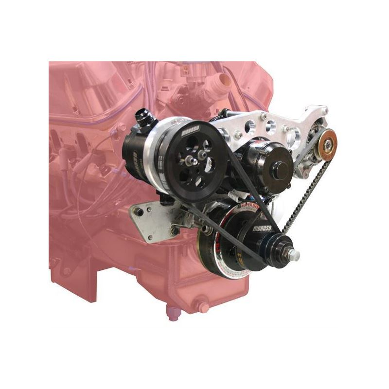 Moroso 63824 Small Block Ford with CSR water Pump,